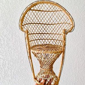 Vintage Mini Peacock Chair